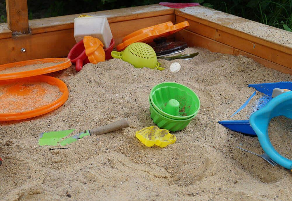 Советы по установке песочницы
